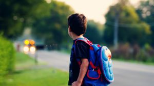 heavy backpacks may lead to children experiencing back pain